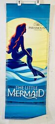 43 The Little Mermaid Disney Paramount Theatre Banner Flag Musical Double Sided