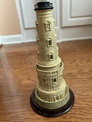 Partylite Cordouan Light Hand Painted Porcelain Collectible Lighthouse Series