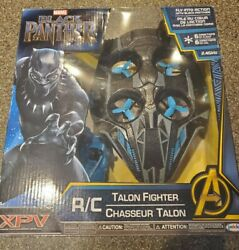 Black Panther Drone Xpv Rc Talon Fighter Vehicle Toy Brand New And Marvel Avengers
