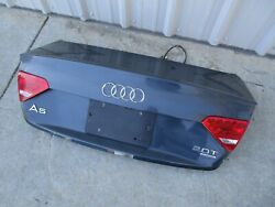 08 09 10 11 12 13 14 15 Audi A5 S5 Trunk Lid Shell Complete Camera Gray Oem