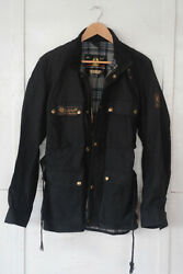 Belstaff Road Master Ll Rare Vintage Wax Cotton Jacket Made In England