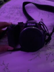 Nikon Coolpix B500 Camera- Memory Card Included With Stand