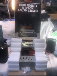 Old School Shaft Am/fm Stereo 8 Track With Amp Unopened