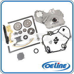 For Chevy Hhr Cobalt 2.2 2.4l Timing Chain Kit Oil Pump Cover Gasket Oiler Bolts