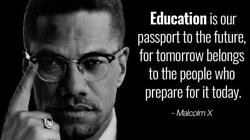 Malcolm X Quote Glossy Poster Picture Photo Print Banner Nation Of Islam 6542