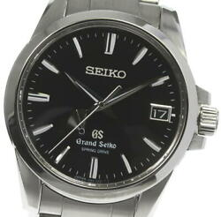 Seiko Gs Sbga027/9r65-0ag1 Power Reserve Spring Drive Menand039s Watch_599611