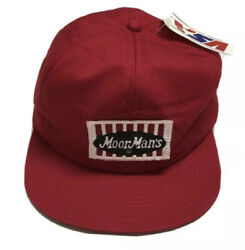 Vtg Moorman's Trapper Hat K Brand Made In The Usa Patch Cap Agriculture Farming