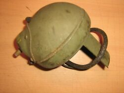 Harley Davidson Wla Flathead 45ci Military Army 6v Black Out Front Lamp Nos