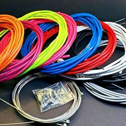 👌jagwire Complete Universal Road Mtb Shift/brake Cable/housing Kit 4/5mm Pro 👀