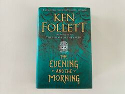 Ken Follett The Evening and the Morning First Edition Hardcover 2020 Viking $22.99