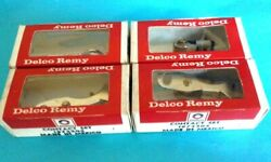 4 New Nos Original Vintage Oem Delco Remy Contact Points Sets 1972204 F101pv