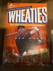 Tiger Woods Wheaties Box Sealed Brand New Rookie Year 2003 Masters Collectible