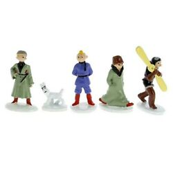 Mini Collectible Figures Set Tintin In The Land Of The Soviets 46905 2018