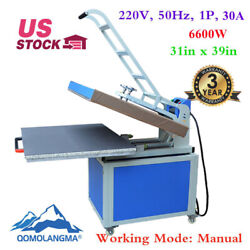 31x39in Large Format Manual Clamshell Textile Thermo Heat Press Machine