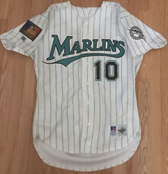 Authentic Gary Sheffield 1994 Florida Marlins Jersey Russell Athletic Size 44