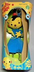 Vintage 1999 rolie Polie Olie Plush Mom Antenna Doll Toy Bendable/poseable New