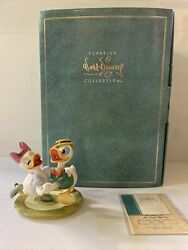 Wdcc Disney Donald And Daisy Mr. Duck Steps Out Oh Boy What A Jitterbug Figurine