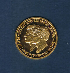 U S A.hommage Aux Freres Jhon And Robert Fitzgerald Kennedy Andoslash 25mm 886 Grs E252.5