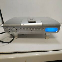 Under Cabinet Gpx Cd Player/radio Kc218s With Remote