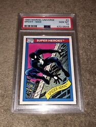 1990 Marvel Universe Spider-man 2 Psa 10. Flawless Card. Very Rare