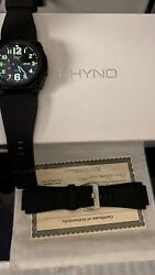 Rhyno Watch Forged Carbon Rubicon King Pilot 128 Of 600 Made Rare/auto Swiss