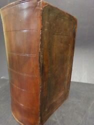1856 Persian Bible By British Foreign Bible Society-- Leather Binding