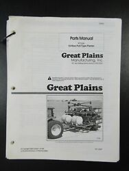 Great Plains Pt1230 12-row Pull Type Planter Parts Manual