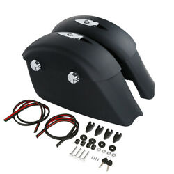 Saddlebags E/electronic Latch Fit For Indian Chieftain Dark Horse 2016-2018 17