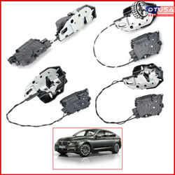 4x Front Rear Lh Rh Soft Close Door Lock Latch Actuator For Bmw F07 535i 550i Gt