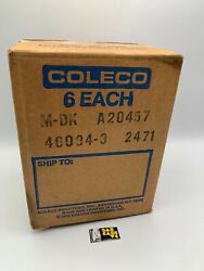 1982 Donkey Kong Coleco Intellivision 6 Units Sealed In Factory Box Holy Grail