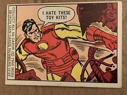 Vintage 1966 Marvel Comics Group Trading Cards Each Sold Separately