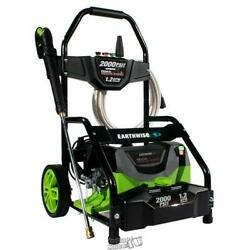 Earthwise-2000 Psi Electric Pressure Washer 35' Power Cord Four Spray Tips
