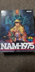 Excellent Rare Neo Geo Snk Nam-1975 Paper Package Edition F/s From Japan