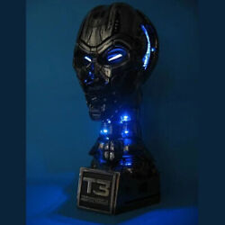 Limited Terminator 3 T-x End Skeleton Life Size Head Statue 1/1 Scale New F/s