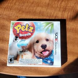 BRAND NEW Petz Beach for the Nintendo 3DS. FACTORY SEALED. $17.49