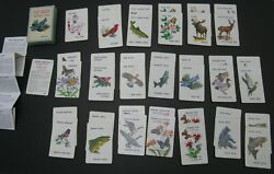 Vintage Old Maid Wildlife Edition Playing Cards Game Complete Boxed Animals