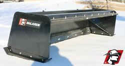 Skid Steer Snow Pusher Box Attachment High Quality Mclaren Metal For Gehl