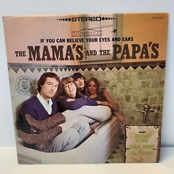 Mamas And The Papas If You Can Believe Your Eyes And Ears Vinyl Dunhill Ds 50006