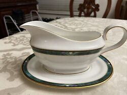 New Lenox Andldquokellyandrdquo Debut Collection Gravy Boat And Underplate Mint