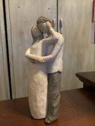 Willow Tree Figurine Together Embracing Couple 2000 Susan Lordi Excellent