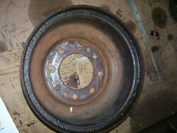 Vintage Ford Naa Tractor -brake Drum -1953