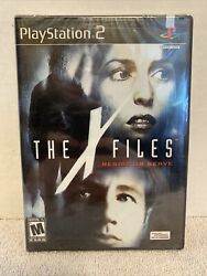 Brand New Rare X-files Resist Or Serve Sony Playstation 2, 2004 Ps2 Vhtf