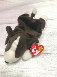 Bruno Bull Terrier Dog 5th Generation 1997 Retired Beanie Baby Collectible