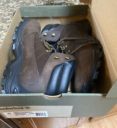 Rangeley All Weather Boots Full Grain Leather Hiker Brown Mens 11 New