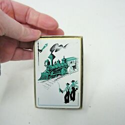 Vintage Vogue Playing Cards International Playing Card Co. Train Mcm Art Deco