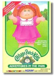 Colecovision Cabbage Patch Kids Adventures Video Game Refrigerator Magnet