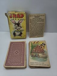 Vintage Snap Card Game - Whitman - Complete 50s Ivx7