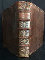 1730 Explanation Of Several Difficult Texts Of Holy Bible. Leather Bound
