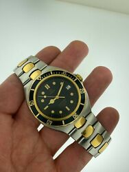 Omega Seamaster 200m Pre-bond 40mm Automatic Gold And Steel 368.1041