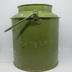 Cmstpandp Rr Handled Bucket - Chicago Milwaukee St. Paul And Pacific Railroad C 1920